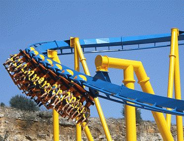 The Goliath, Six Flags Fiesta Texas, San Antonio, Texas