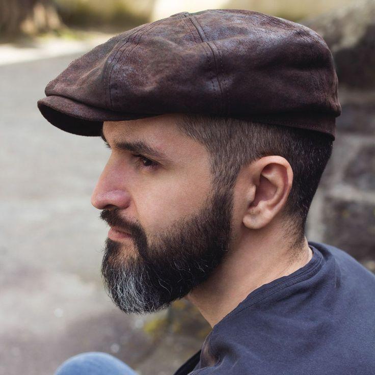 hatteras pigskin ledermützestetson | bart-mode, frisur