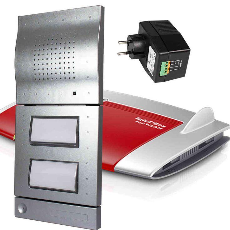 DoorLine Classic T01-02 silber, AVM FRITZ!Box 7490 WLAN AC + N Router, SNG