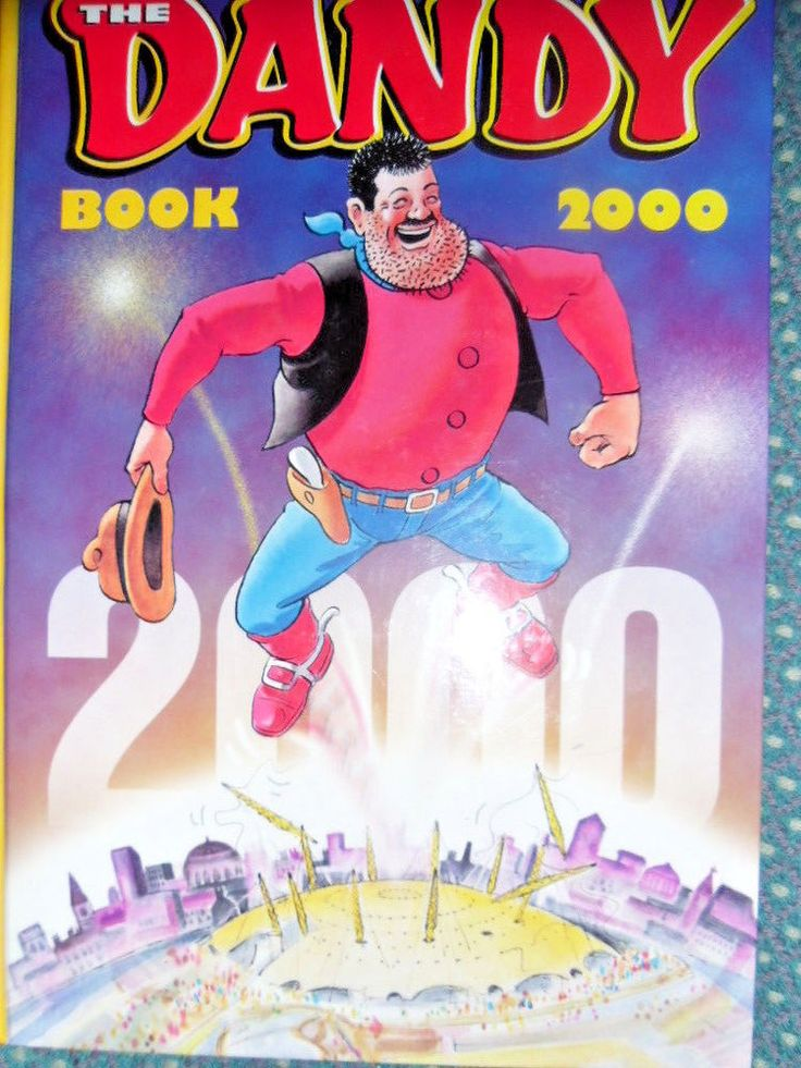 The Dandy Book 2000 Childrens books Used