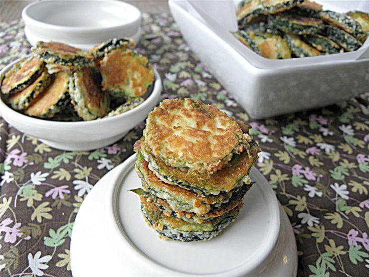 Zucchini Parmesan Cakes Recipe — Dishmaps