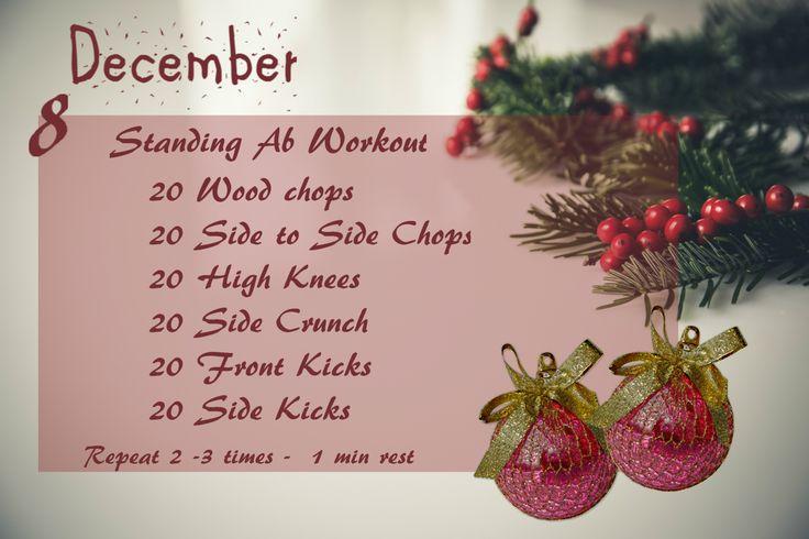 December Fitness Challenge - Day 8