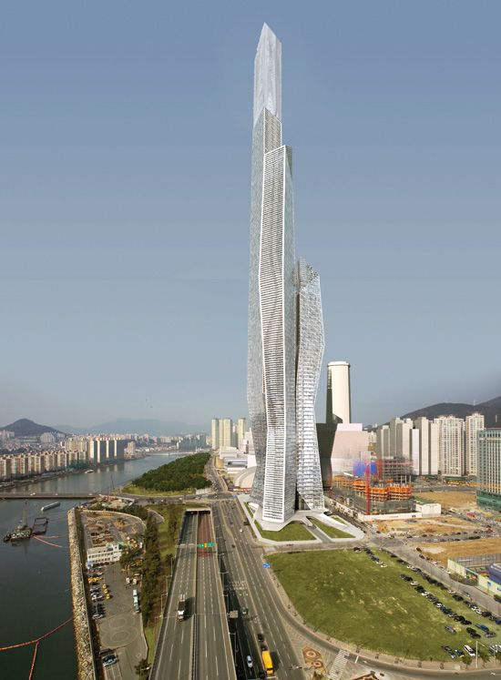 Millennium Tower Business Centre (WBCB)  in Busan by Asymptote Architecture