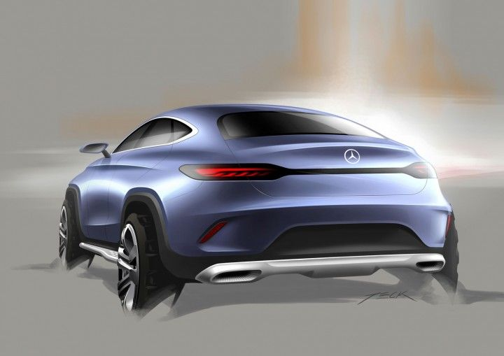 Mercedes-Benz Concept Coupe SUV - Design Sketch