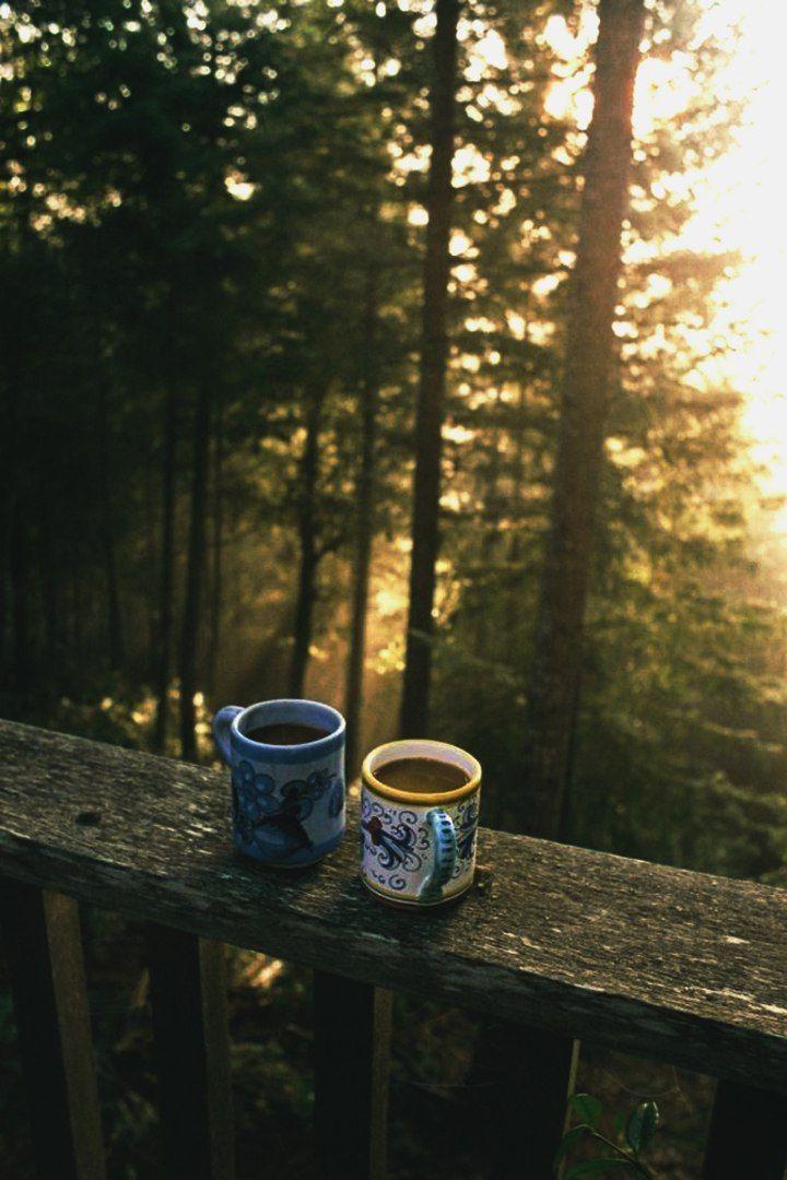 Кофе на природе фото