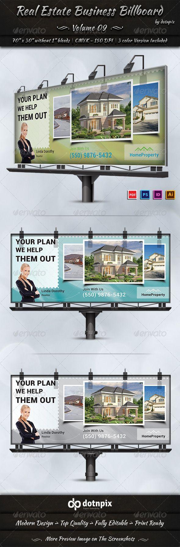 Real estate billboard design samples - Real Estate Business Billboard Volume 9