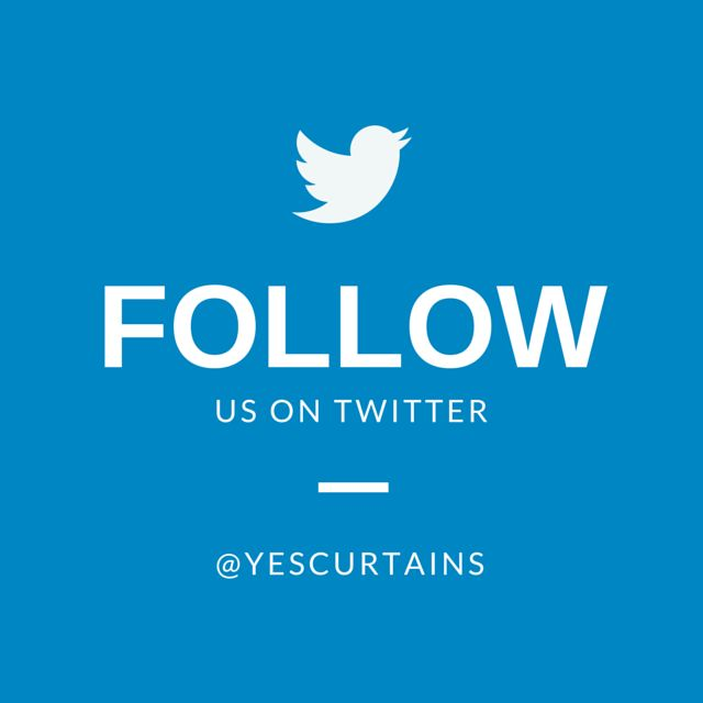 Follow us on Twitter #Curtains #YesCurtains