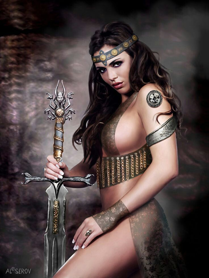 Sexy medieval wench fantasy art — pic 10