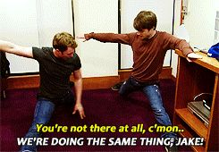 That time Daniel showed us that his friend Jake keeps him grounded.   25 Times The Internet Fell In Love With Daniel Radcliffe