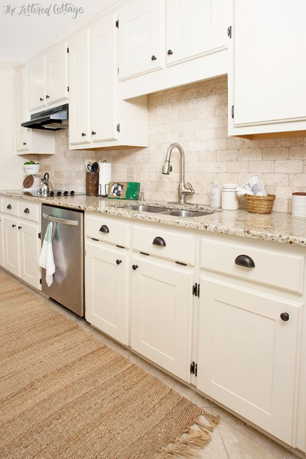 35 best paint navajo white images on pinterest wall for Painted shaker style kitchen cabinets
