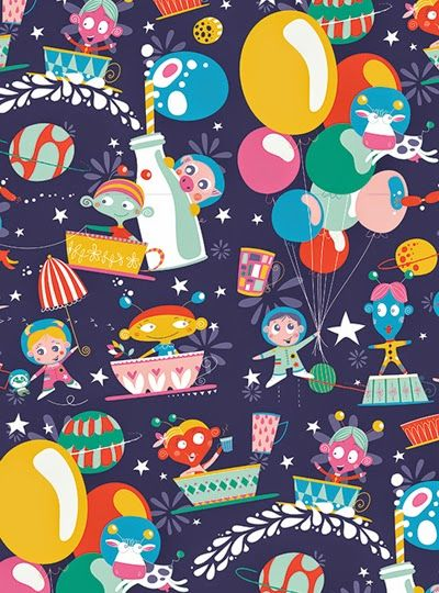 Ikbhal Cute Babies: Print & Pattern: DESIGNER - Johanna Fritz