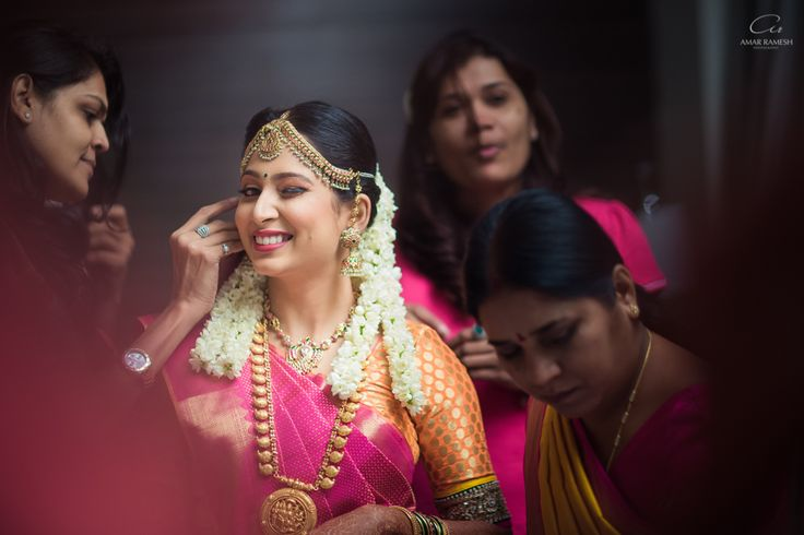 The gorgeous Abirami, getting ready for her big day! Love a bride with attitude!