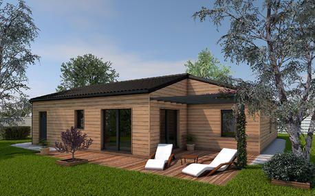 Maison bois à Buxerolles bois 99m²
