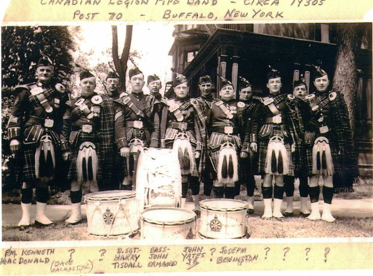 Canadian Legion Pipe Band