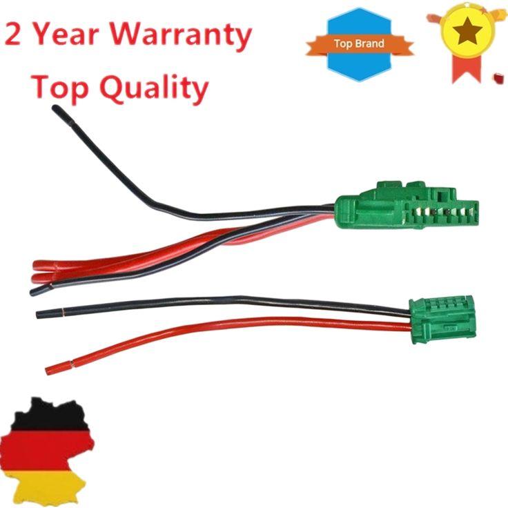 Heater Blower Resistor Connector Wire harness For Citroen C2 C3 C5/Peugeot 1007 207 607 Clio Grand Scenic Megane Twingo 6441.L2