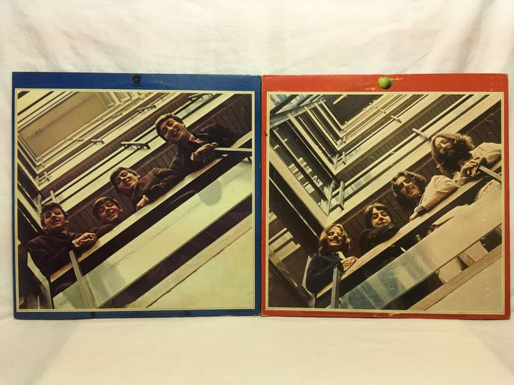 The Beatles 1962-1966 1967-1970 Original Vinyl LP Record Lot Capitol+ Apple