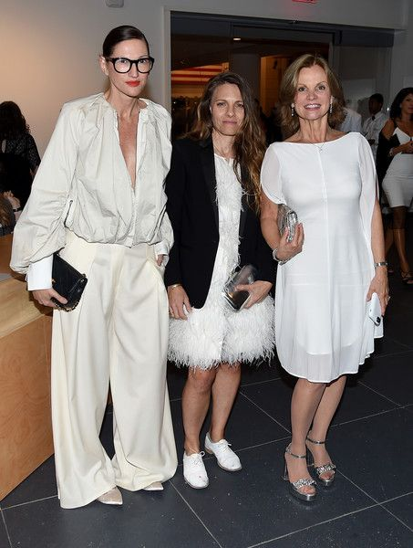 Jenna Lyons and Courtney Crangi Photos Photos - Jenna Lyons, Courtney Crangi and Audrey Meyer attends The 2016 Brooklyn Museum Artists Ball, Honoring Stephanie and Tim Ingrassia on April 20, 2016 in New York City. - The 2016 Brooklyn Museum Artists Ball, Honoring Stephanie and Tim Ingrassia