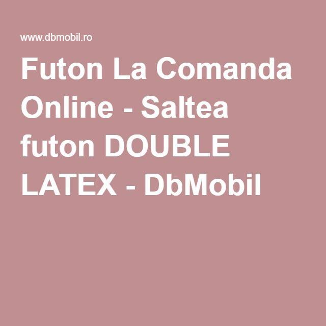 Futon La Comanda Online - Saltea futon DOUBLE LATEX - DbMobil