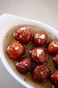 Bread Gulab Jamun recipe is yet another instant recipe made using bread and it is a sweet/dessert dish called as bread gulab jamun made using leftover bread