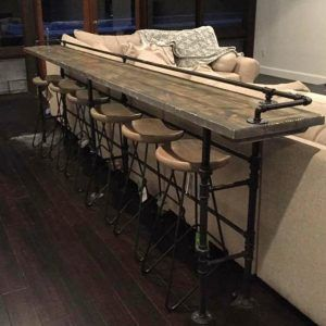 Wooden Bar Table Furniture Design                                                                                                                                                                                 More