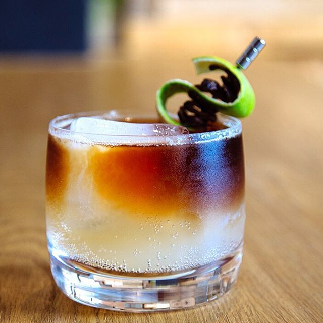 This playful, alcohol-free Dark 'N Stormy