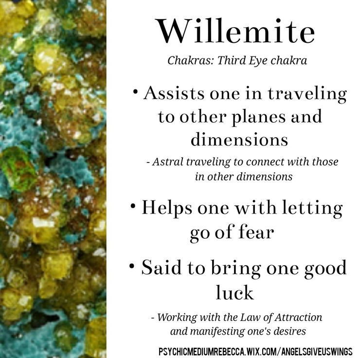 Willemite crystal meaning