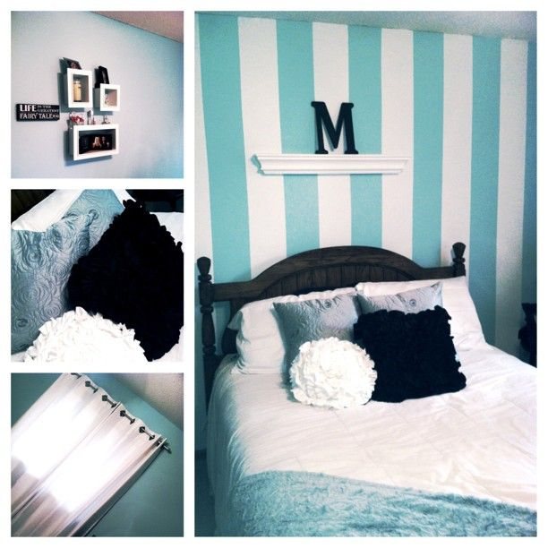 My Tiffany Inspired Bedroom.