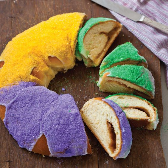 Try this decadent Creole Cream Cheese and Satsuma King Cake this Mardi Gras season.