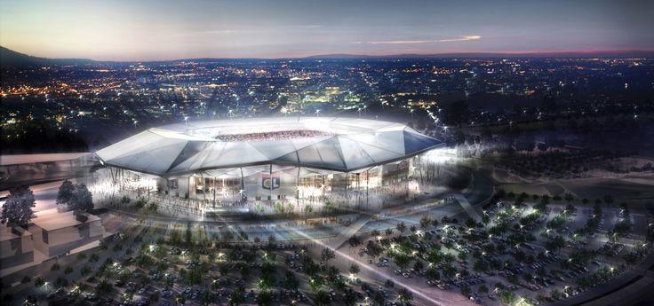 Grand Stade de l'Olympique Lyonnais, nouveau stade pour 2016.