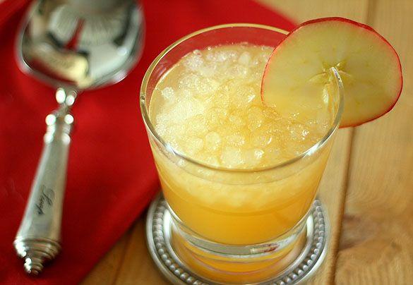 Bourbon, Apple Cider, Ginger Ale Cocktail