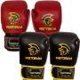 Luvas De Boxe Couro Treino Ufc Muay Thai Training Pretorian