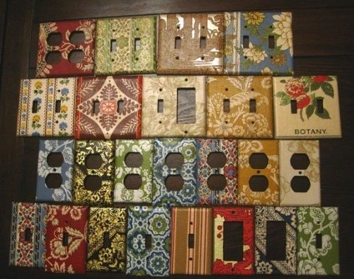 135 best create switchplates outlet covers images on for Wallpaper outlet