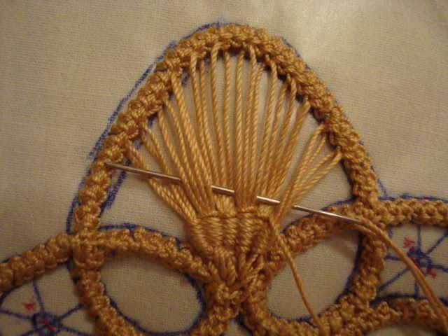 Irish lace   how to
