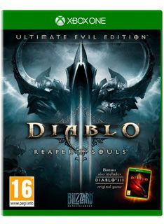 Activision Diablo III (3) - Ultimate Evil Edition on Xbox One Diablo III Ultimate Evil Edition Includes: Diablo III Reaper of Souls Expansion PackBlizzard Entertainments epic action-RPG Diablo III is moving the eternal war between the High Heavens and the Burnin http://www.MightGet.com/february-2017-1/activision-diablo-iii-3--ultimate-evil-edition-on-xbox-one.asp