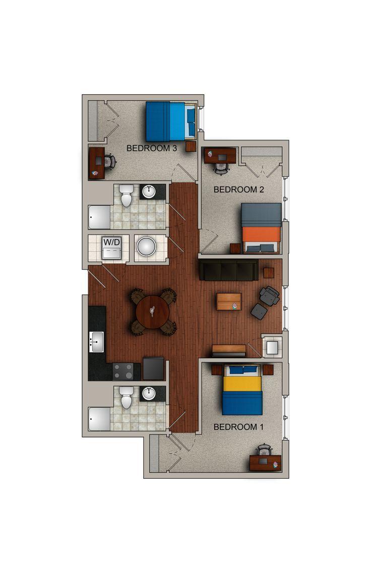 9 best floor plans images on pinterest floor plans apartments