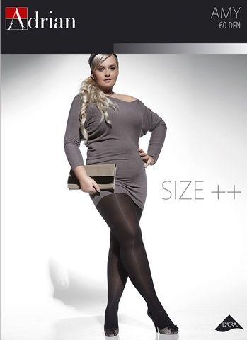 Rajstopy Amy 60 DEN #adrian #rajstopyadrian #adrianinspiruje #size #plus #curves