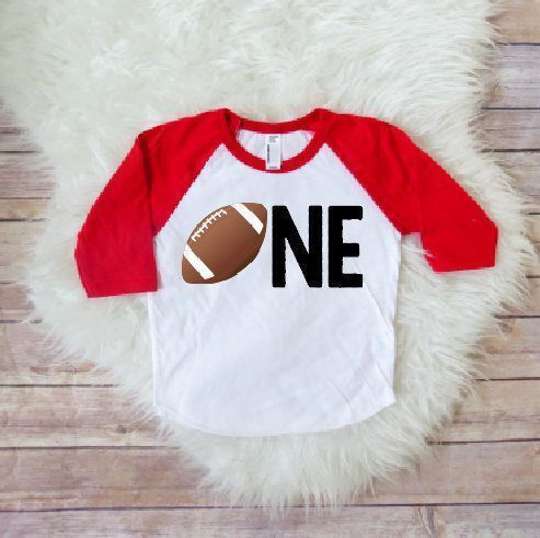 Football baby, One year old, boys outfit, baby sports, football baby shirt, toddler football, baby football, boys birthday party by JADEandPAIIGE on Etsy https://www.etsy.com/listing/581559380/football-baby-one-year-old-boys-outfit #toddlerpartyoutfitboy