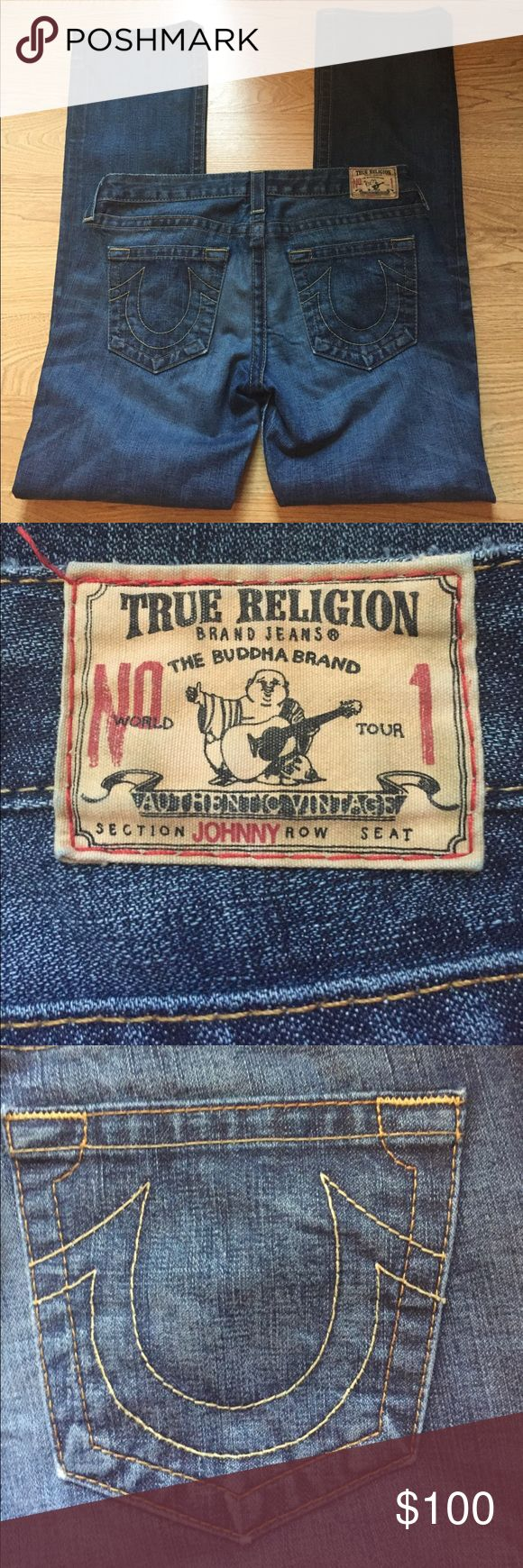 True religion Johnny dark star sz  31 TR johnny dark star first edition ( only 5000 made) sz 31 x 35.  Great  condition!! True Religion Jeans Boot Cut
