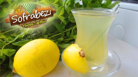 Nane Limon Tarifi - Sofra Bezi   Yemek Tarifleri   Kek Tarifleri   Resimli Tarifler