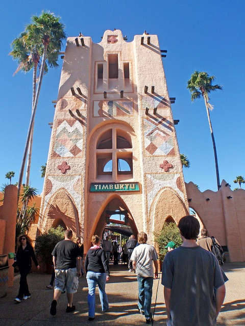 Timbuktu.... at Busch Gardens, Tampa Bay, Florida, that is!