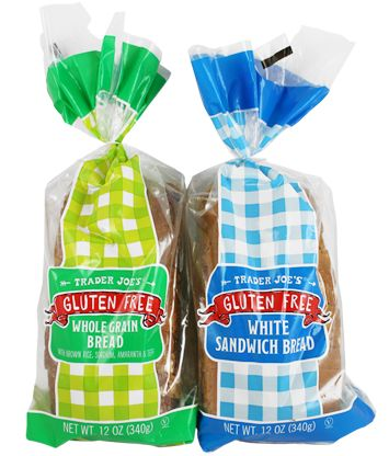 Gluten Free Breads | Trader Joe's . . . finally found a gf bread that Patrick actually likes for toasting, grilled cheese, etc.