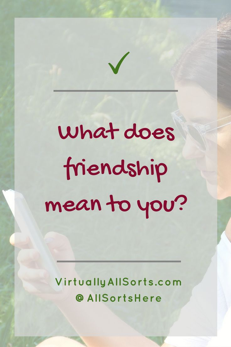 So, is your friendship phoney?