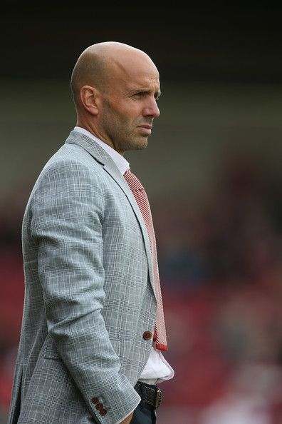 Paul Tisdale Photos Photos - Exeter City manager Paul Tisdale looks on during the Sky Bet League Two match between Northampton Town and Exeter City at Sixfields Stadium on August 30, 2014 in Northampton, England. - Northampton Town v Exeter City - Sky Bet League Two