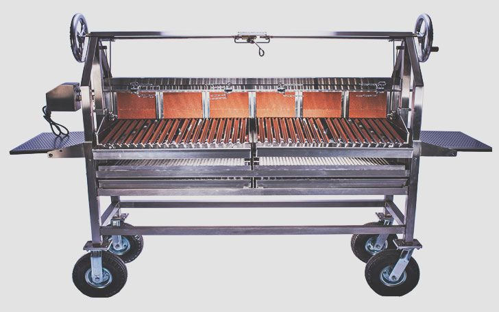 Wood-burning grills, portable grills and other vital pieces of outdoor cookery.