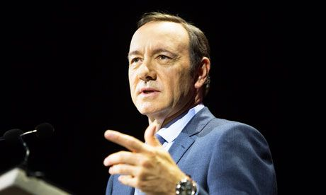Kevin Spacey says multi-medium film releases would help beat piracy Actor believes releasing films in cinemas, on-demand and on DVDs at the same time would 'take a huge bite out of piracy'