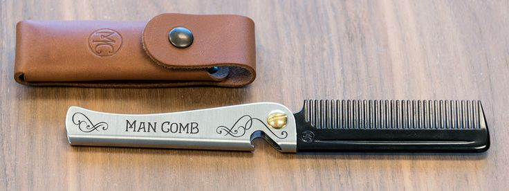 Daft's Flip-Out Man Comb is a Switchblade Grooming Tool for the Modern Gentleman