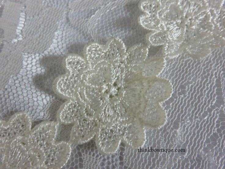 5cm Embroidered motif flower Australia  http://thinkbowtique.com/doilies-embroidered-motifs/5cm-embroidered-motif-flower/