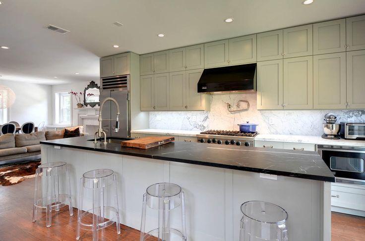 Modern Kitchens With Eye Catching Dark Wood Floors