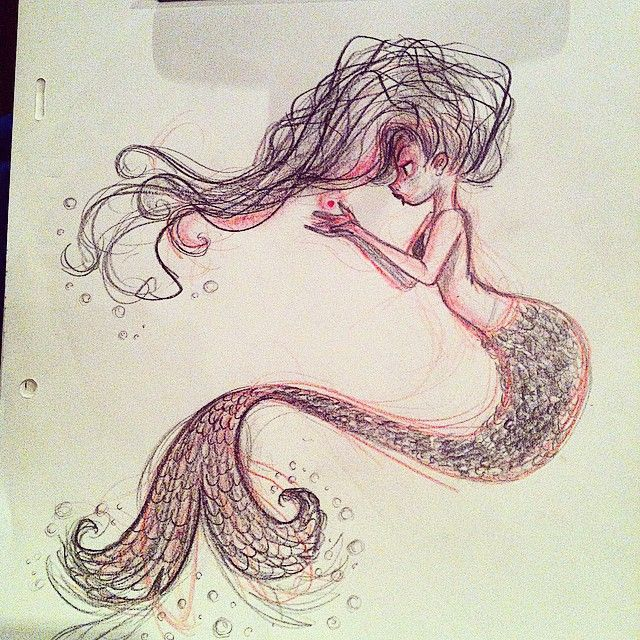 gallery for drawings of mermaids tumblr