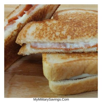 Pepperoni Grilled Cheese Sandwich | Our Military Life Blog